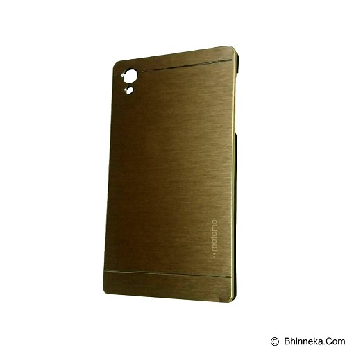MOTOMO Metal Hardcase for Sony Xperia Z5 - Gold (Merchant) - Casing Handphone / Case