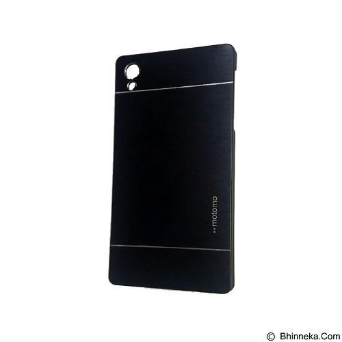 MOTOMO Metal Hardcase for Sony Xperia Z5 Premium - Black (Merchant) - Casing Handphone / Case
