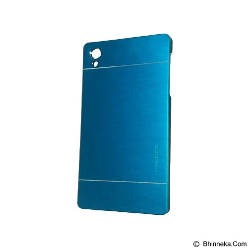 MOTOMO Metal Hardcase for Sony Xperia Z5 - Soft Blue (Merchant) - Casing Handphone / Case