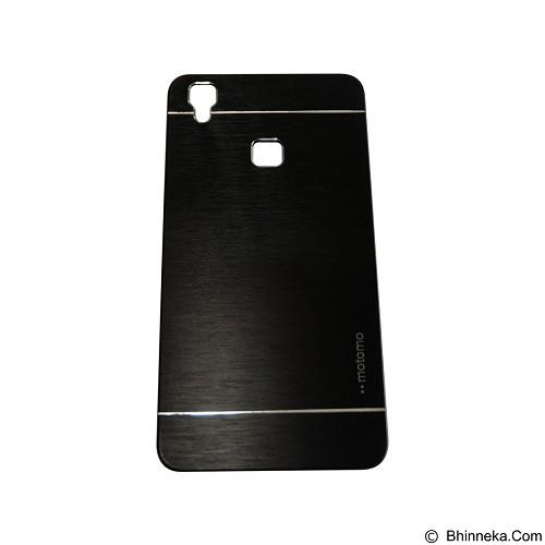 MOTOMO Metal Hardcase for Vivo V3 Max - Black (Merchant) - Casing Handphone / Case