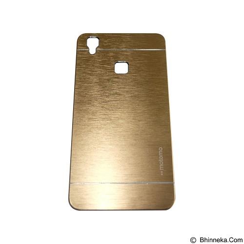MOTOMO Metal Hardcase for Vivo V3 Max - Gold (Merchant) - Casing Handphone / Case