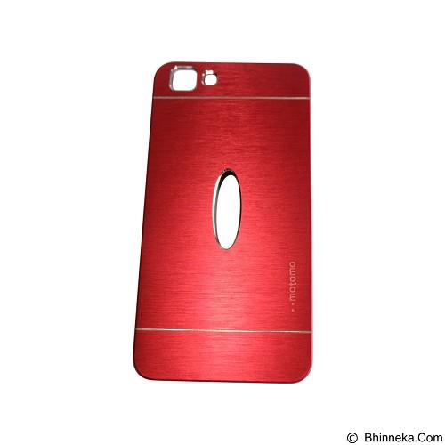 MOTOMO Metal Hardcase for Vivo  Y35 - Red (Merchant) - Casing Handphone / Case