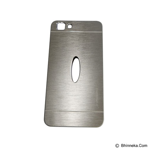 MOTOMO Metal Hardcase for Vivo  Y35 - Silver (Merchant) - Casing Handphone / Case