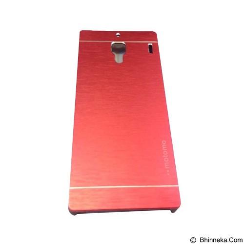 MOTOMO Metal Hardcase for Xiaomi Redmi 1S - Red (Merchant) - Casing Handphone / Case