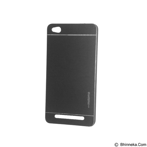 MOTOMO Metal Hardcase for Xiaomi Redmi 3 - Black (Merchant) - Casing Handphone / Case