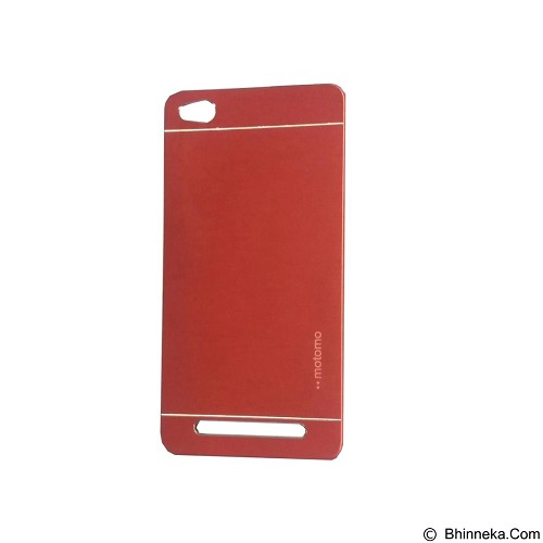 MOTOMO Metal Hardcase for Xiaomi Redmi 3 - Red (Merchant) - Casing Handphone / Case