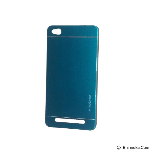 MOTOMO Metal Hardcase for Xiaomi Redmi 3 - Soft Blue (Merchant) - Casing Handphone / Case