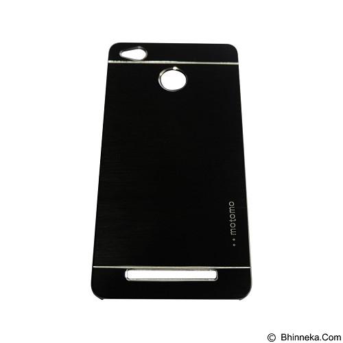 MOTOMO Metal Hardcase for Xiaomi Redmi 3X - Black (Merchant) - Casing Handphone / Case