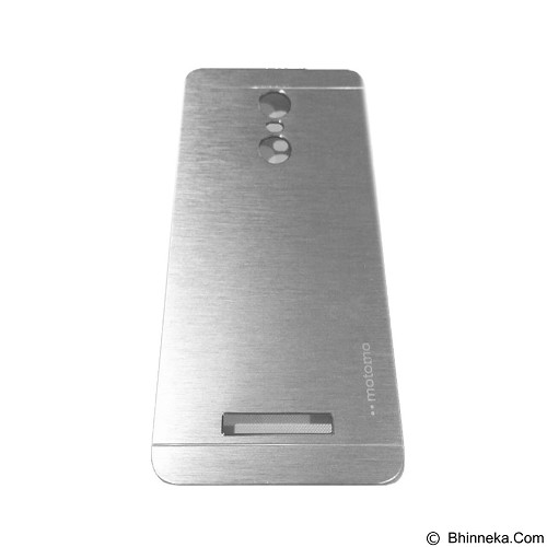 MOTOMO Metal Hardcase for Xiaomi Redmi Note 3 - Silver (Merchant) - Casing Handphone / Case