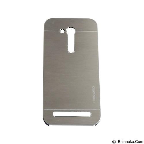 MOTOMO Metal Hardcase for Asus Zenfone Go 4,5 Inch [ZB452KG] - Silver (Merchant) - Casing Handphone / Case