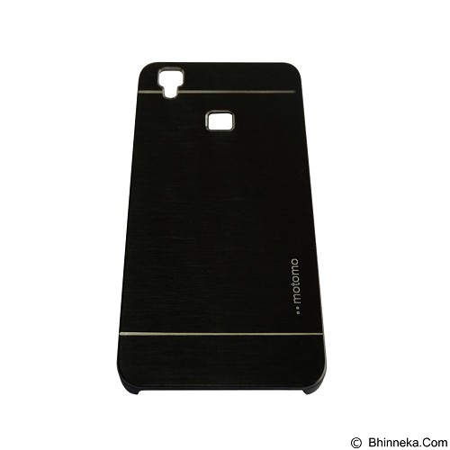 MOTOMO Metal Hardcase for Vivo V3 - Black (Merchant) - Casing Handphone / Case