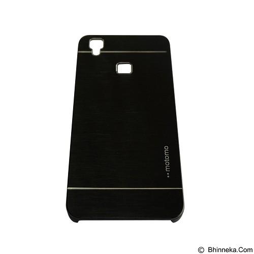 MOTOMO Metal Hardcase for Vivo V3 - Black (Merchant) - Casing Handphone / Case
