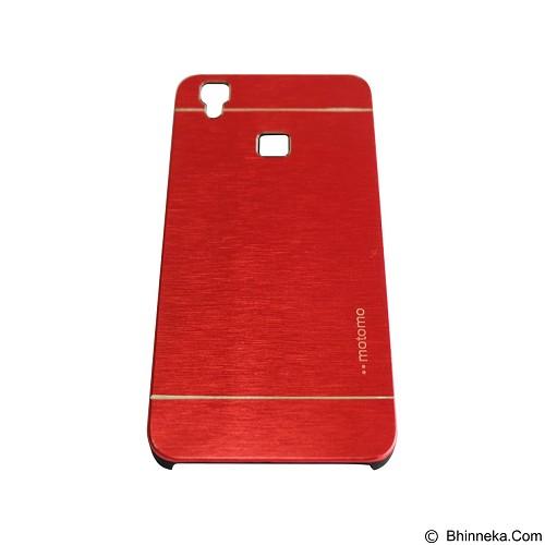 MOTOMO Metal Hardcase for Vivo V3 - Red (Merchant) - Casing Handphone / Case