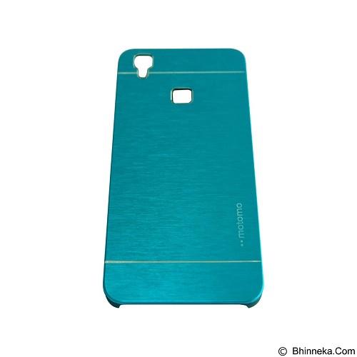 MOTOMO Metal Hardcase for Vivo V3 - Soft Blue (Merchant) - Casing Handphone / Case