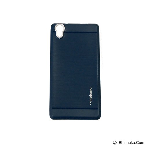 MOTOMO Softcase Infinix Hot 2 X510 - Dark Blue (Merchant) - Casing Handphone / Case