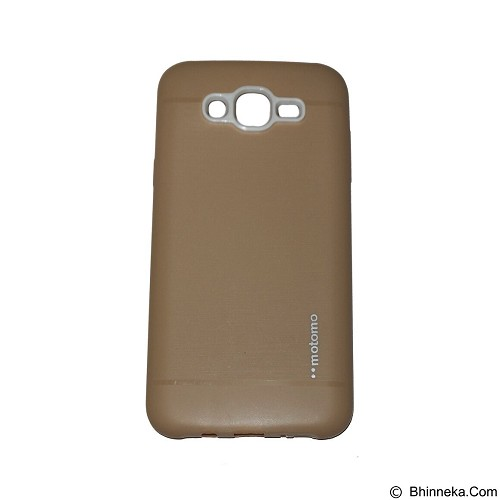 MOTOMO Softcase Samsung Galaxy Grand Prime G530 - Gold (Merchant) - Casing Handphone / Case