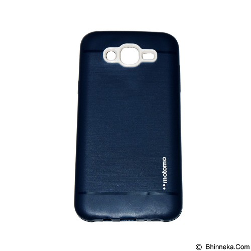MOTOMO Softcase Samsung Galaxy J1 Ace/J110 - Dark Blue (Merchant) - Casing Handphone / Case