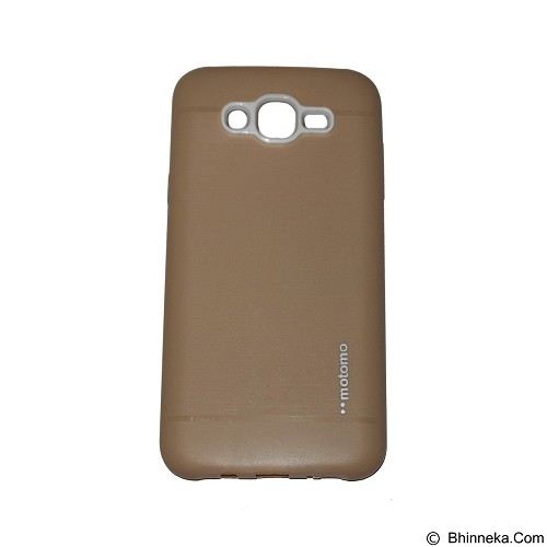 MOTOMO Softcase Samsung Galaxy J1 Ace/J110 - Gold (Merchant) - Casing Handphone / Case