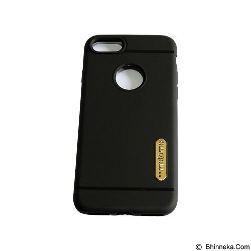 MOTOMO Softcase/Silicone Casing for Apple iPhone 7G - Black (Merchant) - Casing Handphone / Case