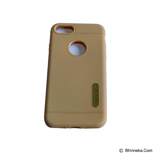 MOTOMO Softcase/Silicone Casing for Apple iPhone 7G - Gold (Merchant) - Casing Handphone / Case