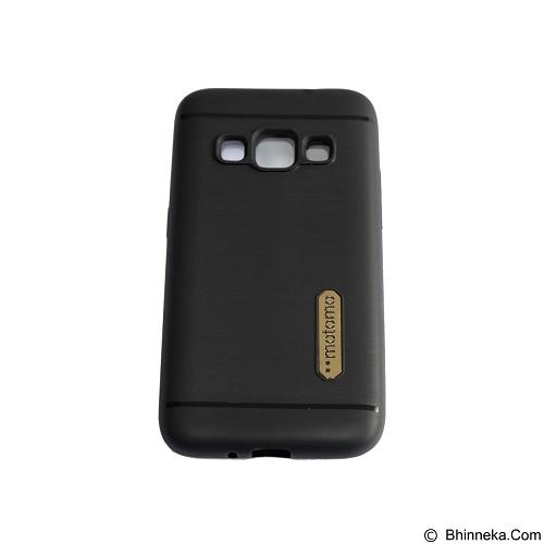 MOTOMO Softcase/Silicone Casing for Samsung Galaxy J120/J1 2016 - Black (Merchant) - Casing Handphone / Case