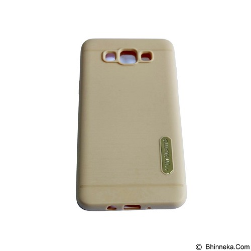 MOTOMO Softcase/Silicone Casing for Samsung Galaxy J710/J7 2016 - Gold (Merchant) - Casing Handphone / Case