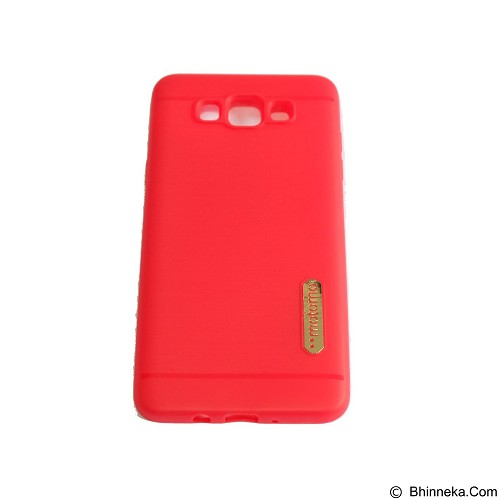 MOTOMO Softcase/Silicone Casing for Samsung Galaxy J710/J7 2016 - Red (Merchant) - Casing Handphone / Case