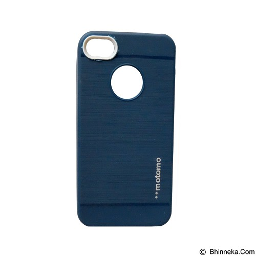MOTOMO Softcase iPhone 4G/4S - Dark Blue (Merchant) - Casing Handphone / Case