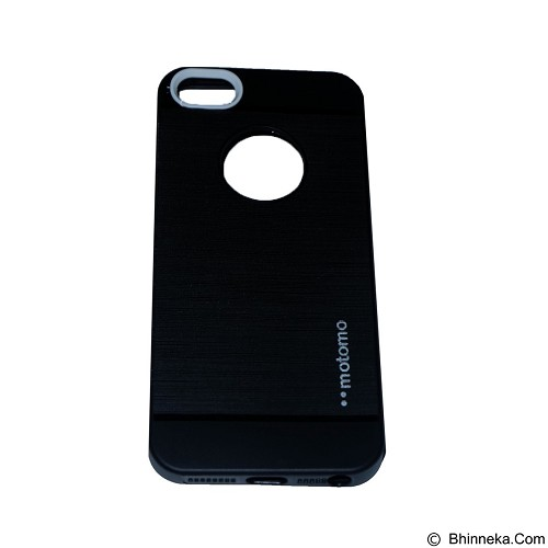 MOTOMO Softcase iPhone 5G/5S/5SE - Black (Merchant) - Casing Handphone / Case