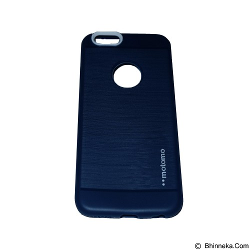MOTOMO Softcase iPhone 5G/5S/5SE - Dark Blue (Merchant) - Casing Handphone / Case
