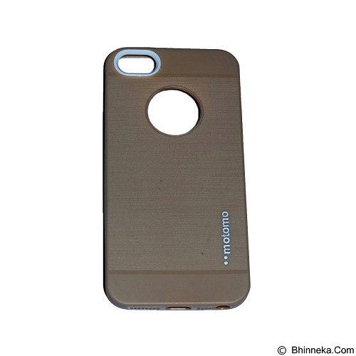 MOTOMO Softcase iPhone 5G/5S/5SE - Gold (Merchant) - Casing Handphone / Case