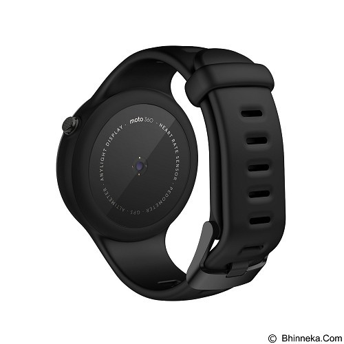 MOTOROLA Moto 360 2ndGen 45mm - Sport Black (Merchant) - Smart Watches