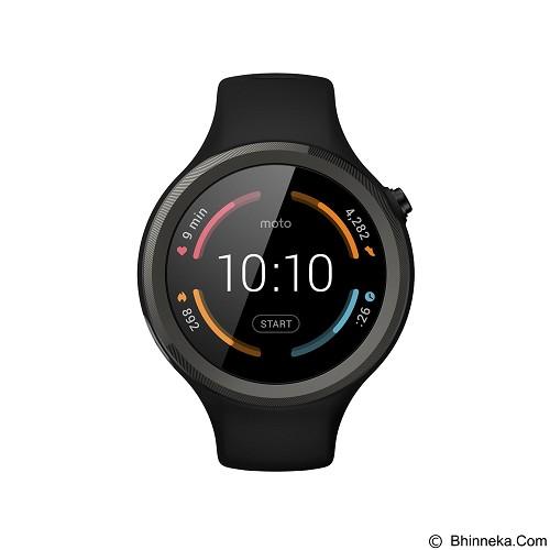 MOTOROLA Moto 360 2ndGen 45mm - Sport Black - Smart Watches