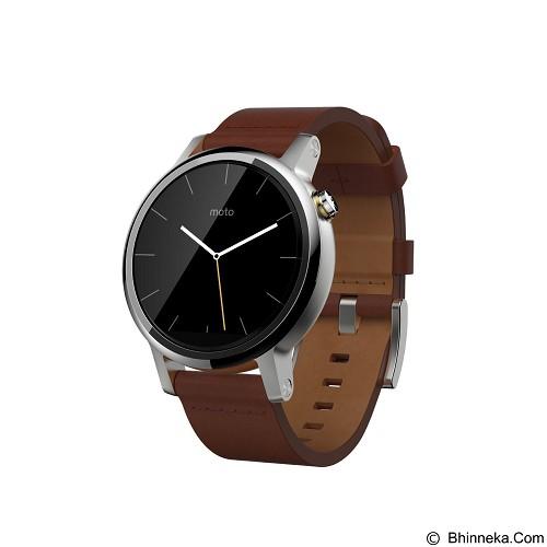 MOTOROLA Moto 360 2ndGen 46mm - Cognac Leather - Smart Watches