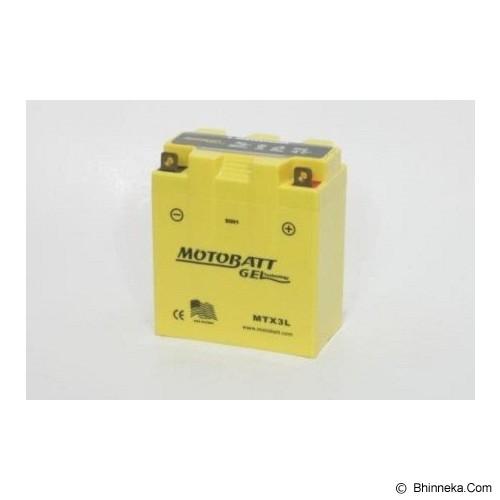MOTOBATT Aki Gel [MTX3L] - Battery Charger Otomotif / Cas Aki