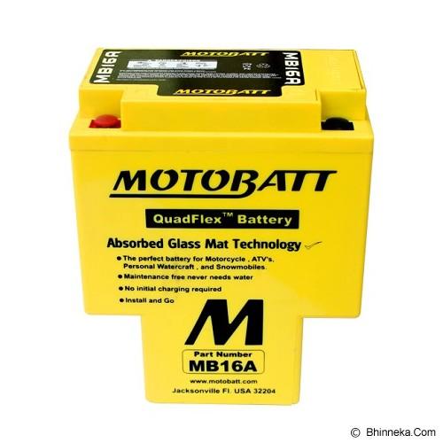 MOTTOBAT Aki Quadflex [MB16A] Moge - Battery Charger Otomotif / Cas Aki