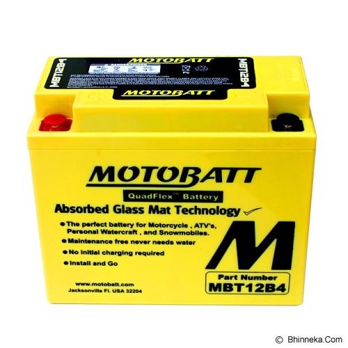 MOTTOBAT Aki Quadflex [MBT12B4] Moge - Battery Charger Otomotif / Cas Aki