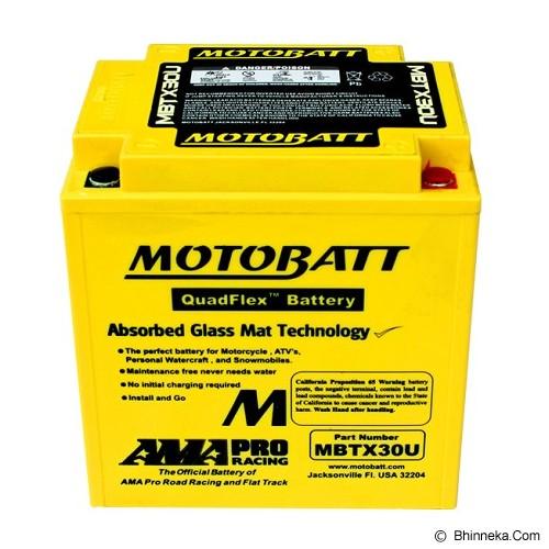 MOTTOBAT Aki Quadflex [MBTX30U] Moge - Battery Charger Otomotif / Cas Aki