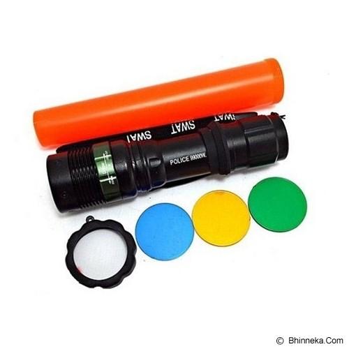 MOZA Senter Swat Police Multifungsi 3 Lensa - Senter / Lantern
