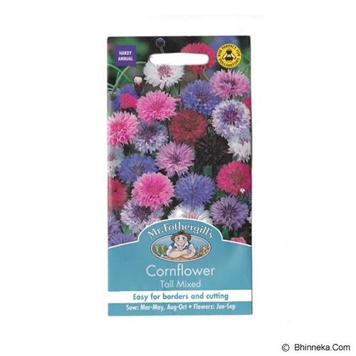 MR FOTHERGILLS Cornflower Tall Mixed - Bibit / Benih Tanaman Hias
