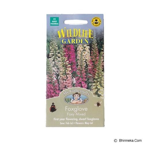 MR FOTHERGILLS Foxglove Foxy Mixed - Bibit / Benih Tanaman Hias