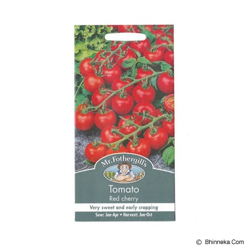 MR FOTHERGILLS Tomato (Cherry) Red Cherry - Bibit / Benih Sayuran