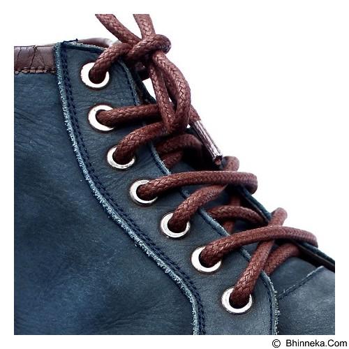MR SHOELACES Tali Sepatu Lilin Bulat Besar [RB02120] - Brown (Merchant) - Tali Sepatu Pria