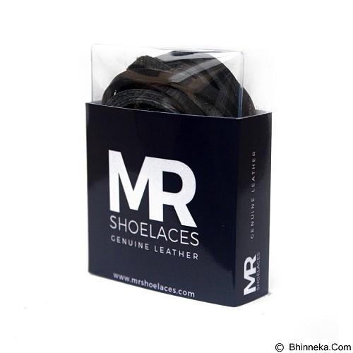 MR SHOELACES Tali Sepatu Kulit [LR01060] - Black (Merchant) - Tali Sepatu Pria