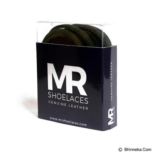 MR SHOELACES Tali Sepatu Kulit [LR07060] - Green (Merchant) - Tali Sepatu Pria