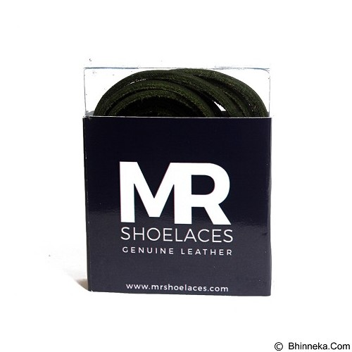 MR SHOELACES Tali Sepatu Kulit [LR07100] - Green (Merchant) - Tali Sepatu Pria