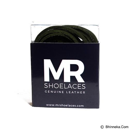 MR SHOELACES Tali Sepatu Kulit [LR07120] - Green (Merchant) - Tali Sepatu Pria