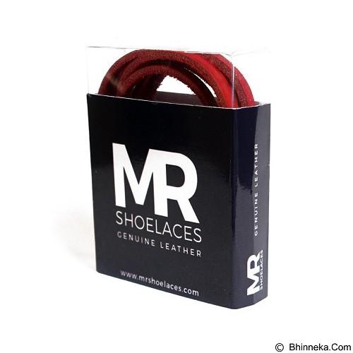 MR SHOELACES Tali Sepatu Kulit [LR09100] - Red (Merchant) - Tali Sepatu Pria