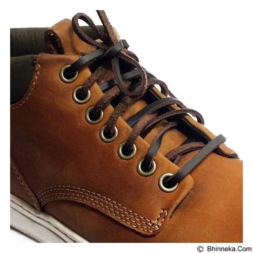 MR SHOELACES Tali Sepatu Kulit [LR12120] - Coffee (Merchant) - Tali Sepatu Pria
