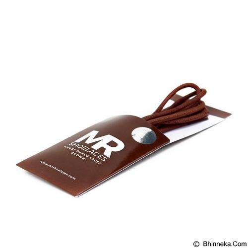 MR SHOELACES Tali Sepatu Lilin Bulat [RD03120] - Brown (Merchant) - Tali Sepatu Pria